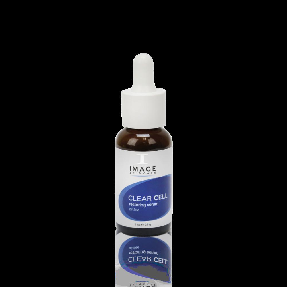 Serum phục hồi và dưỡng ẩm cho da mụn Image Skincare Clear Cell