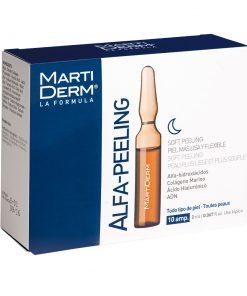 Tinh chất tái tạo, dưỡng ẩm làn da ban đêm MartiDerm Alfa-Peeling (30 ống)