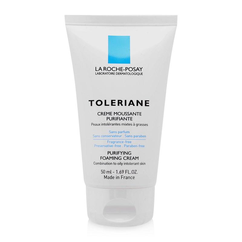 Sữa Rửa Mặt Tạo Bọt Làm Sạch Da La Roche-Posay Toleriane Purifying Foaming Cream 50ml
