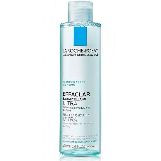Nước tẩy trang da dầu La Roche-Posay Effaclar Micellar Water Ultra Oily Skin 100ml