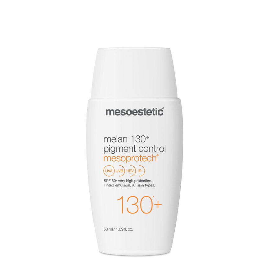 Kem chống nắng phổ rộng kiểm soát nám Mesoestetic Mesoprotech Melan 130+ Pigment Control