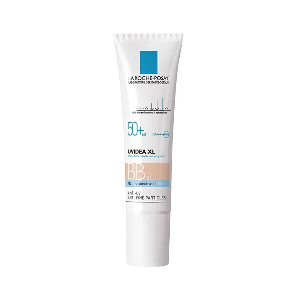 Kem chống nắng La Roche-Posay UVIDEA XL BB 01 Multi-Protective Shield Anti-UV SPF50 PA++++ bảo vệ da trước tác hại tia UV và môi trường