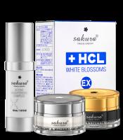 Bộ sản phẩm trị sạm nám và dưỡng trắng da cao cấp Sakura