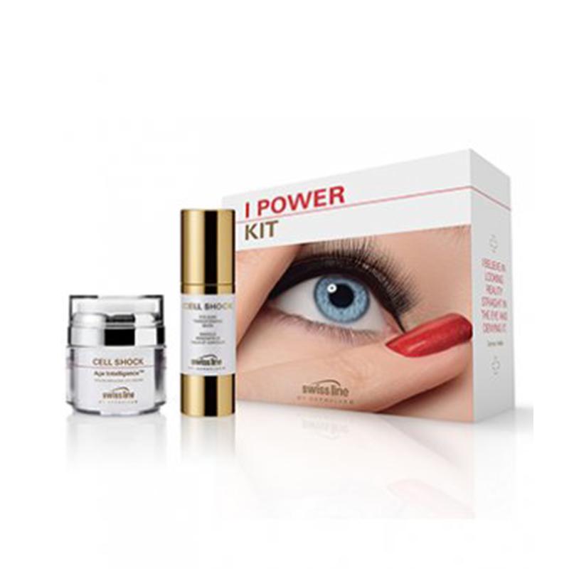 Bộ đôi chống lão hóa vùng mắt Swissline I Power Kit