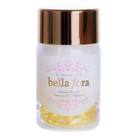 Viên uống tinh chất hoa hồng Bella Fora
