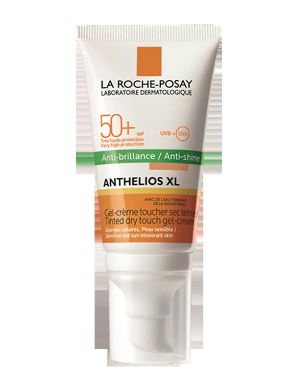 Kem chống nắng kiểm soát dầu La Roche-Posay Anthelios XL Tinted Dry Touch Gel - Cream SPF 50+ UVB +UVA (Không màu)