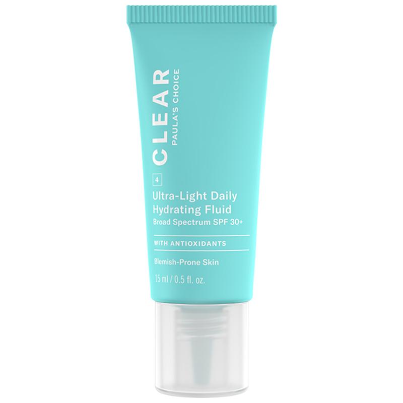 Kem dưỡng da chống nắng dành cho da mụn Paula's Choice Clear Ultra-Light Daily Fluid SPF 30 15ml