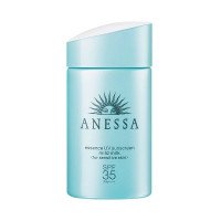 Tinh chất chống nắng dịu nhẹ cho da nhạy cảm và trẻ em Anessa Moisture UV Sunscreen Mild Milk SPF 35 PA+++