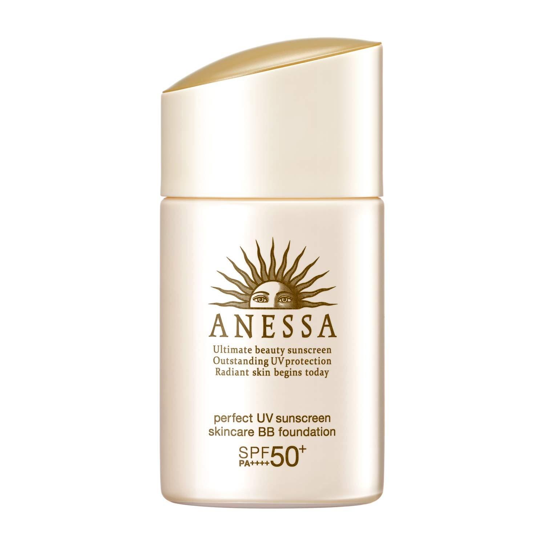 Kem trang điểm chống nắng Anessa Perfect UV Sucreen Skincare BB Founsndation SPF50+/PA++++ (tông màu sáng)