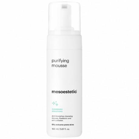 Sữa rửa mặt dành cho da mụn Mesoestetic Purifying Mousse
