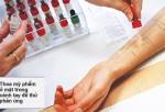 Dị ứng mỹ phẩm - cách xử trí và phòng ngừa