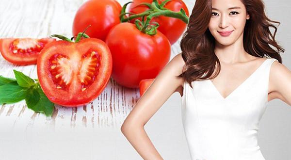 Bất ngờ với hiệu quả làm trắng da từ cà chua nấu chín