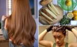 Nhuộm tóc nâu vàng/sáng màu thơm ngát, không hư hại từ chanh
