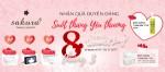 KHUYẾN MÃI THÁNG 3: Nhận quà duyên dáng - Suốt tháng yêu thương