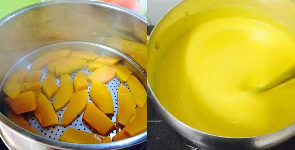 """""""Cò hương"""" cũng phải tăng 7kg/2 tuần nhờ sữa bí đỏ thơm ngon tự làm tại nhà ĐÚNG CHUẨN"""