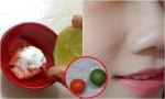 Vắt vài giọt nước cốt chanh vào chén cà chua rồi thoa lên mặt, da căng mịn như em bé, xóa mờ mọi vết thâm chỉ sau 15 phút