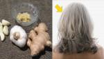 """Chữa """"tóc bạc sớm"""" chỉ với 2 nguyên liệu đơn giản nhà nào cũng có"""