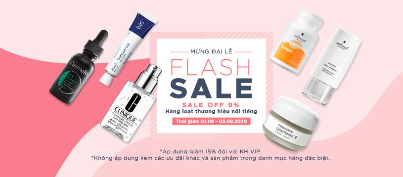 Flash sale 2/9