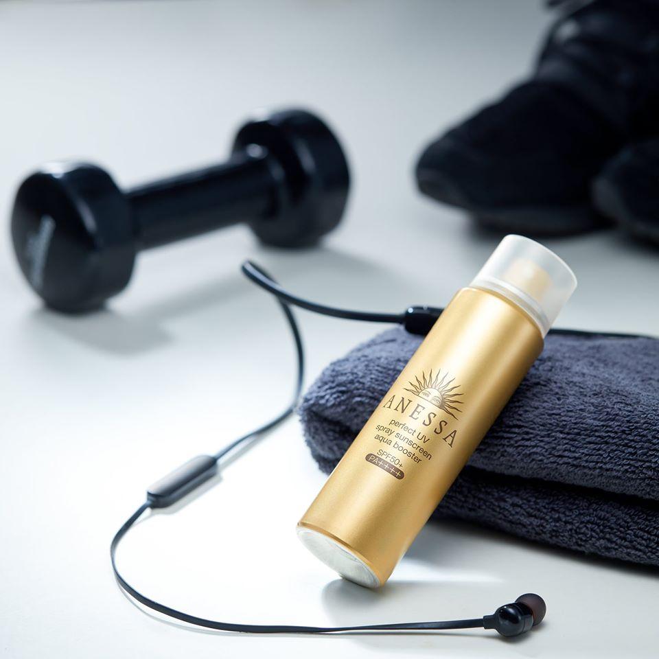 Xịt chống nắng bảo vệ hoàn hảo Anessa Perfect UV Sunscreen Skincare Spray SPF 50+ PA++++