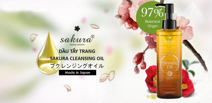 Sakura Cleansing Oil